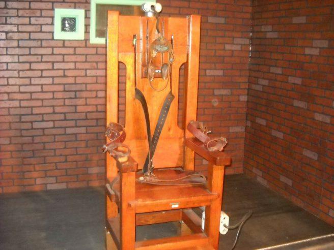 An electric chair.
